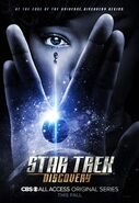 Star trek discovery, affiche