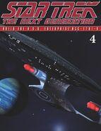 The Official Star Trek The Next Generation Build the Enterprise-D issue 4 magazine