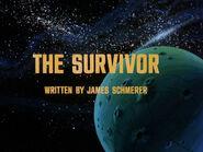 1x06 The Survivor title card