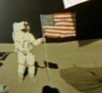 Alan Shepard sur la Lune