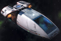 Chaffee Type shuttle CGI model