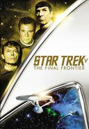 Star Trek V The Final Frontier 2013 DVD cover Region 1