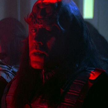 ...as a Klingon gunner