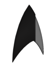 The Section 31 Starfleet insignia used in the 2250s