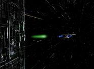 Borg cube firing shield neutralizer