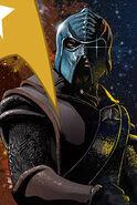 Countdown to darkness, couverture klingon ébauche 3