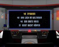 DVD-Menü TOS Staffel 2 Disc 5