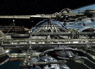 Ledosian spaceport