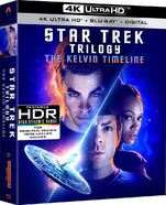 Star Trek Trilogy The Kelvin Timeline 4K UHD cover