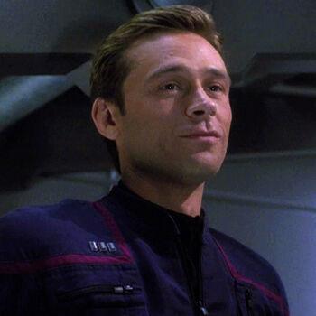 """Commander Charles """"Trip"""" Tucker in 2151"""