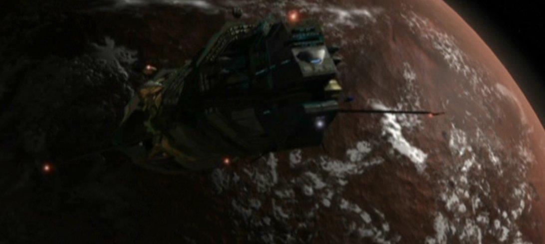 Ord'mirit mining vessel