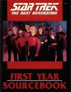 Star Trek The Next Generation First Year Sourcebook