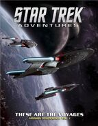 Star Trek Adventures - These Are the Voyages Volume 1 cover