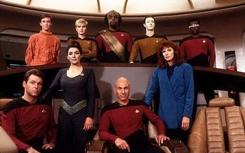 The cast in Season 1