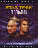 Federation audiobook cover, UK cassette edition