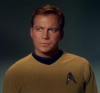 O capitão Kirk