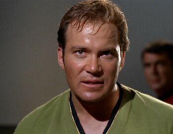 The mirror Kirk on the Enterprise