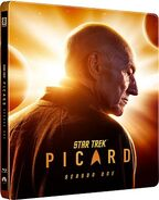 PIC Season 1 Blu-ray cover steelbook edition