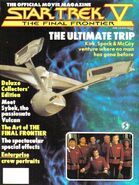 Star Trek V Official Movie Magazine cover