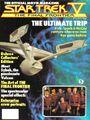 Star Trek V Official Movie Magazine cover