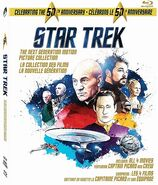 TNG, la collection des films, blu-ray