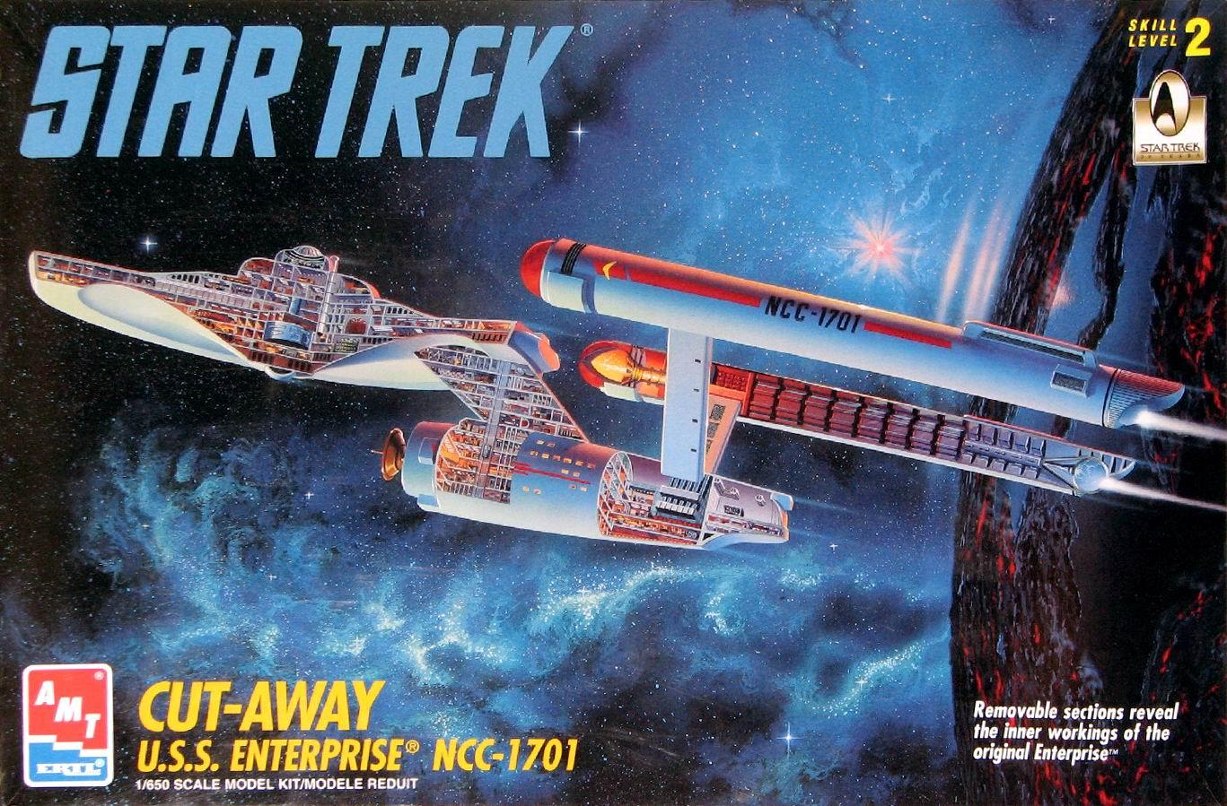 AMT Model kit 8790 Cut-Away USS Enterprise 1996.jpg