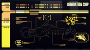 Ancient generation ship, MSD