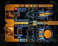 DVD-Menü TNG Staffel 4 Disc 1
