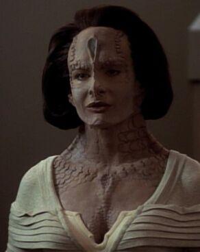 Natima Lang, a Cardassian female (2370)