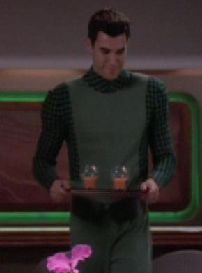 ... as a Ten Forward waiter
