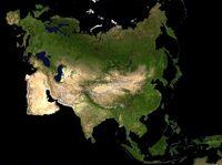 Kontynent Eurazji