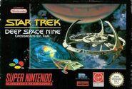 Star Trek DS9 Crossroads of Time SNES EU Cover