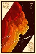 Star Trek The Q Conflict 6 cover RI