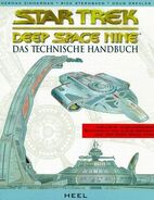 Deep Space Nine Technical Manual cover (German)