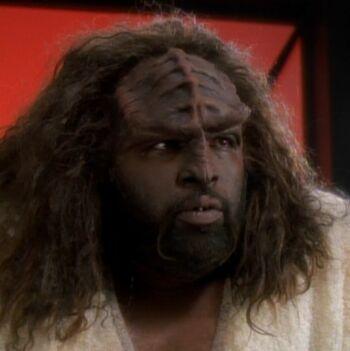 ...as the Klingon chef