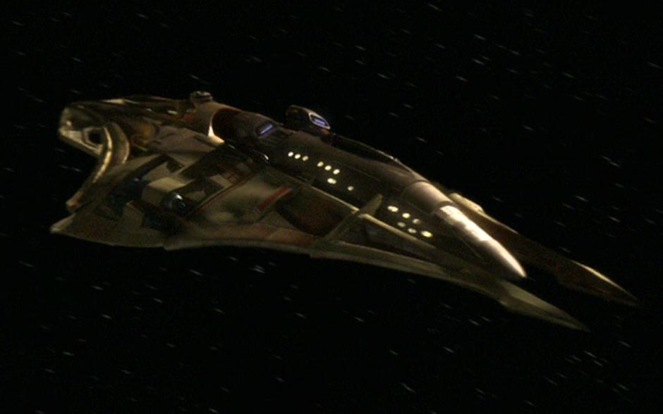 Lokirrim patrol ship