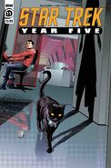 Star Trek Year Five issue 11 cover A