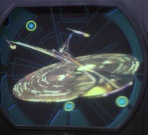 USS Enterprise-J display