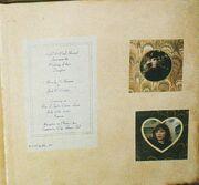 Wedding invitation - Picard album