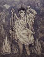 Devil painting