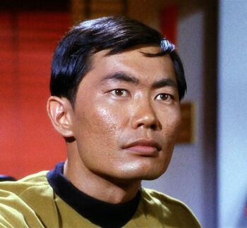 Lieutenant Sulu in 2266