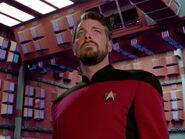 Riker in romulanischen holografischen Umgebungsimulator