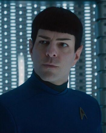 Commander Spock in 2263