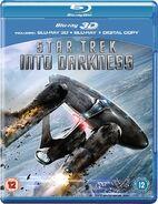 Star Trek Into Darkness Blu-ray 3D Region B cover