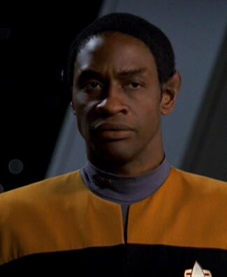 Lieutenant Commander Tuvok in 2377