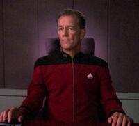 Admiral Chekote, un umano