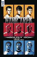 Star Trek Boldly Go, issue 17