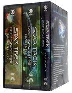 Star Trek Deep Space Nine Complete Series DVD Region 1 insides