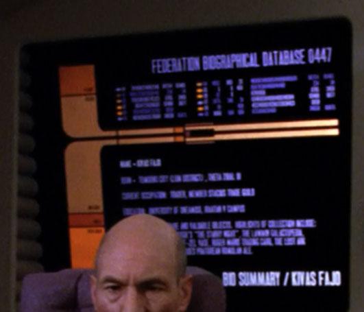 Federation biographical database