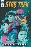 Star Trek Year Five issue 9 cover A